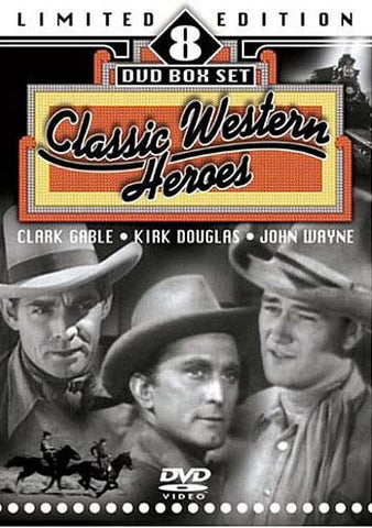 Classic Western Heroes (Limited Edition) (Boxset) DVD Movie