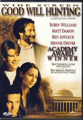 Good Will Hunting (Bilingual) DVD Movie