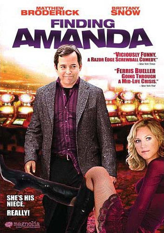 Finding Amanda DVD Movie