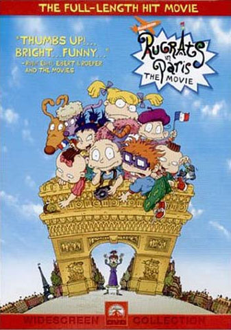 Rugrats in Paris - The Movie DVD Movie