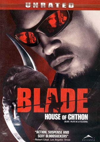 Blade - House Of Chthon (Unrated) (Bilingual) DVD Movie
