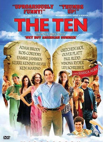 The Ten (Unholy And Unrated) DVD Movie