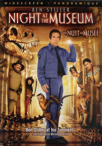 Night At The Museum (Widescreen Edition) DVD Movie
