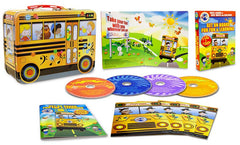 Traveling Toons And Tunes - Get On Board For Fun & Learning 2 DVD 2 CD w/free Lunch Box (Boxset)