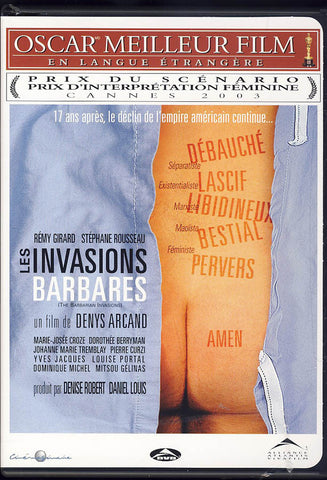 Les Invasions Barbares / The Barbarian Invasions (Bilingual) DVD Movie
