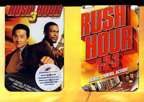 Rush Hour 3 (Rush Hour1-2-3 Behind The Scenes Book) (Boxset) DVD Movie