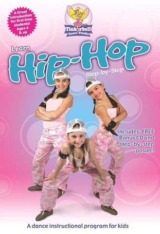 Tinkerbell's Learn Hip-Hop Step by Step DVD Movie
