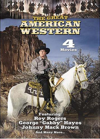 The Great American Western - 4 Movies Featuring Roy Rogers - V.32 DVD Movie