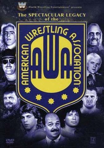 WWE - The Spectacular Legacy of the AWA (American Wrestling Association) DVD Movie