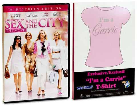 Sex and the City - The Movie (Includes I'm a Carrie T-Shirt) (Boxset) DVD Movie