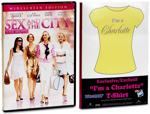 Sex And The City -The Movie - (Includes T-Shirt I'm a Charlotte) (Boxset) DVD Movie