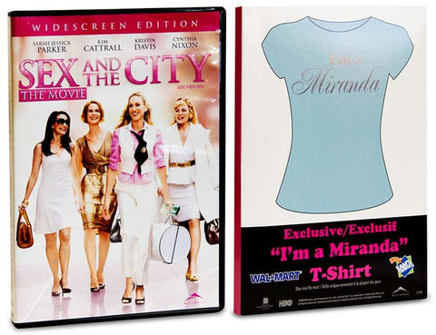 Sex And The City -The Movie - (Includes T-Shirt I m a Miranda) (Boxset) DVD Movie