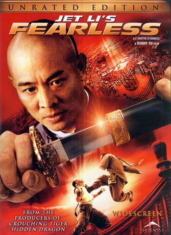 Jet Li s Fearless (Unrated Widescreen Edition) (Bilingual) DVD Movie