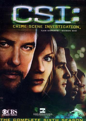CSI : Crime Scene Investigation - The Complete Sixth Season (Boxset) (Bilingual) DVD Movie