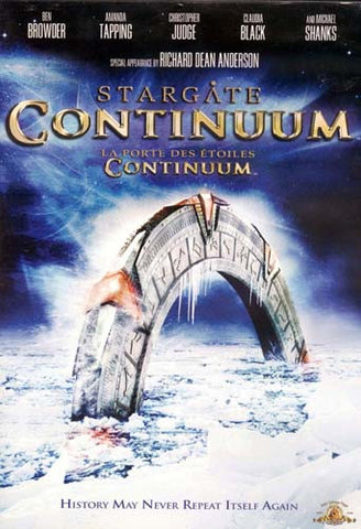 Stargate: Continuum (Bilingual) DVD Movie