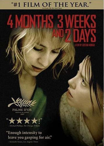 4 Months, 3 Weeks and 2 Days DVD Movie
