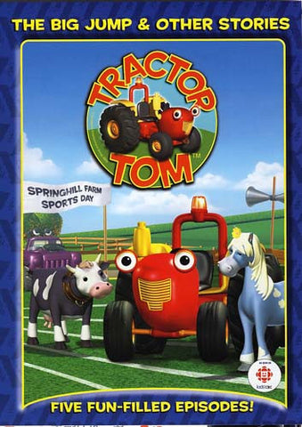 Tractor Tom - The Big Jump and Other Stories DVD Movie