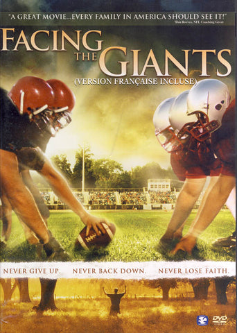 Facing the Giants (Widescreen) (Bilingual) DVD Movie