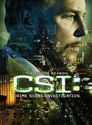 CSI Crime Scene Investigation - The Complete The Eighth Season (Boxset) DVD Movie