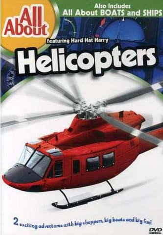 All About Helicopters and Boats and Ships DVD Movie