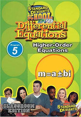 Standard Deviants school - Differential Equations Program 5 - Higher-Order Equations