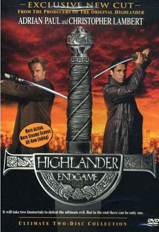 Highlander - Endgame (Two Disc Ultimate edition) DVD Movie