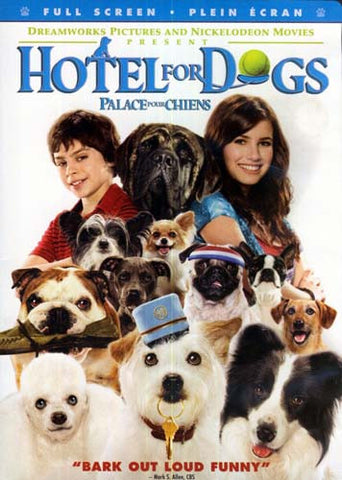 Hotel for Dogs (Fullscreen Edition) DVD Movie