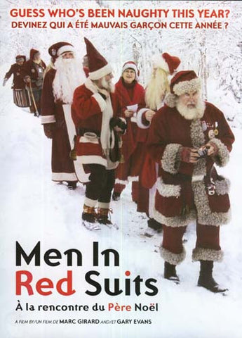 Men In Red Suits / A la rencontre du Pere Noel DVD Movie
