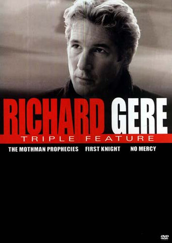 Richard Gere Triple Feature (The Mothman Prophecies / First Knight / No Mercy) DVD Movie