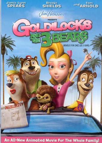 Goldilocks And The 3 Bears (Bilingual) DVD Movie