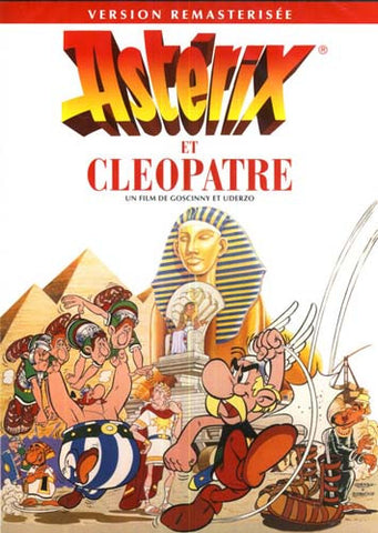 Asterix Et Cleopatre (Remastered Version) (FRENCH COVER) DVD Movie