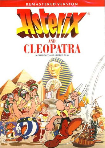 Asterix and Cleopatra (Remastered Version) (ENGLISH COVER) DVD Movie