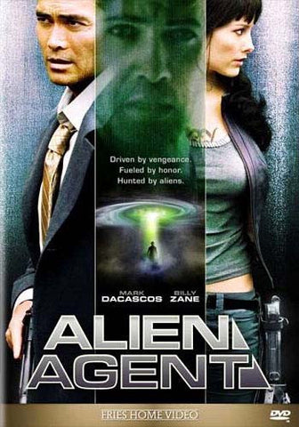 Alien Agent DVD Movie