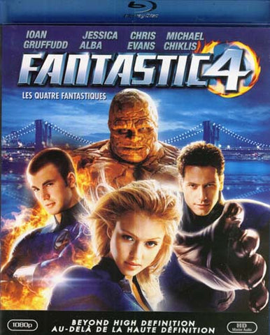 Fantastic Four (Blu-ray) BLU-RAY Movie