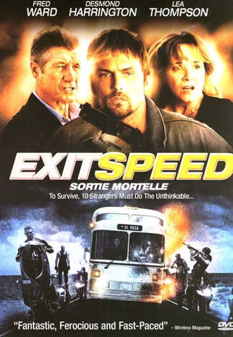 Exit Speed DVD Movie