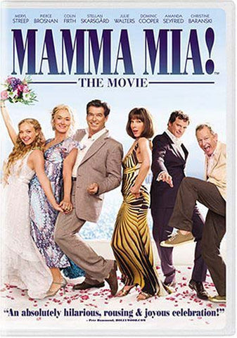 Mamma Mia! The Movie (Widescreen) DVD Movie