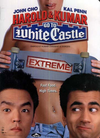 Harold and Kumar Go to White Castle - Extreme (Rated) (Bilingual) DVD Movie