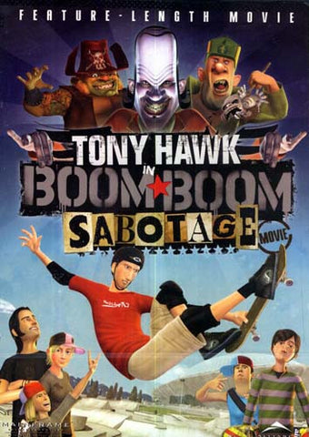 Tony Hawk in Boom Boom Sabotage (Fullscreen) (WideScreen) DVD Movie