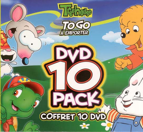 Treehouse - To Go - DVD 10 Pack On 5 Double-Sided Discs (Boxset) DVD Movie