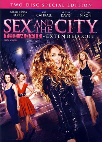 Sex and the City - The Movie - Extended Cut (Two Disc Special Edition) (Bilingual) DVD Movie
