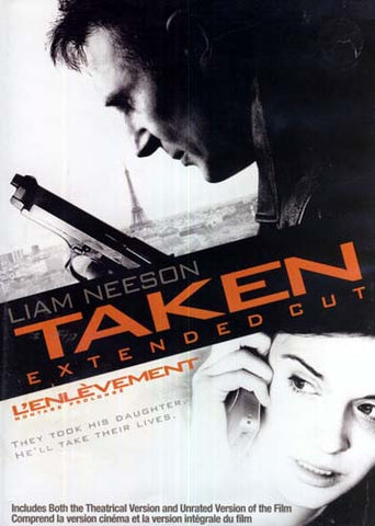 Taken (Single-Disc Extended Edition) (Bilingual) DVD Movie