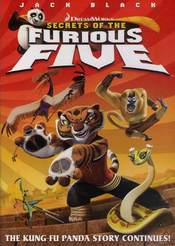 Secrets Of The Furious Five DVD Movie