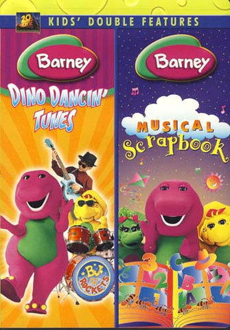 Barney (Dino Dancin Tunes /Musical Scrapbook) (Double Feature) (MAPLE) DVD Movie