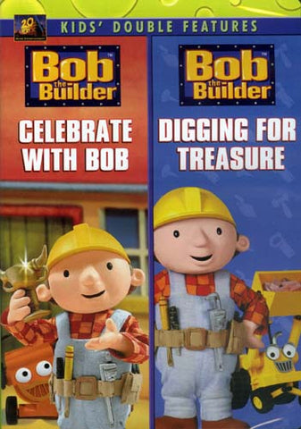 Bob The Builder - Celebrate With Bob/Digging For Treasure (Double Features) DVD Movie