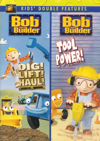 Bob The Builder - Dig!Lift!Haul!/Tool Power (Double Features) DVD Movie