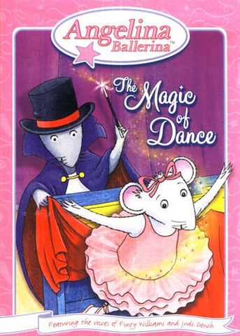 Angelina Ballerina - The Magic of Dance (Without Tiara) DVD Movie
