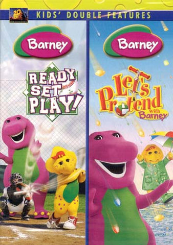 Barney (Ready Set Play!/Let's Pretend With Barney) (Double Feature) DVD Movie