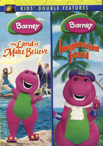 Barney (The Land of Make Believe/Imagination Island) (Double Feature) DVD Movie