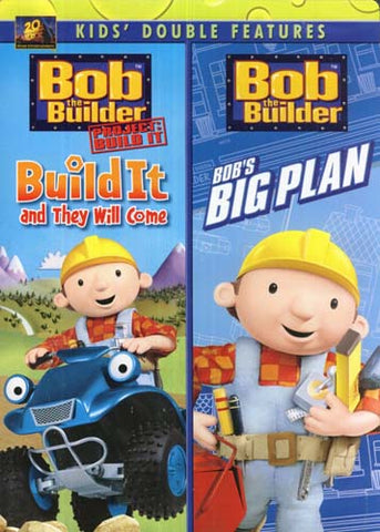 Bob The Builder - Build It and They Will Come / Bob's Big Plan (Double Feature) DVD Movie