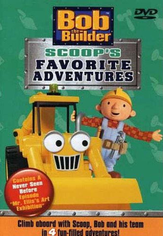 Bob The Builder - Scoop's Favorite Adventures DVD Movie